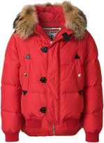 DSQUARED2 padded hooded jacket