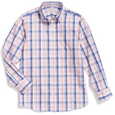 Nordstrom Plaid Woven Shirt (Big Boys)