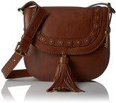Fossil Emi Tassel Saddle Bag