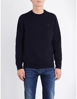 Armani Jeans Crewneck Cotton-blend Sweatshirt