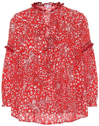 Poupette St Barth Exclusive to Mytheresa Clara printed blouse