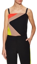 Milly Colorblocked Squareneck Tank