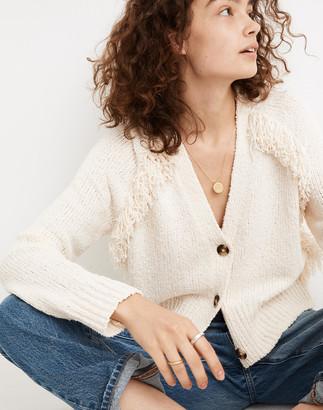 Madewell Chatterton Fringe Cardigan Sweater