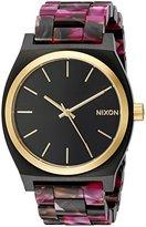 Nixon Women's 'Time Teller Acetate' Quartz Plastic Watch, Multi Color (Model: A3272484-00)