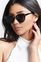 Forever 21 FOREVER 21+ Tinted Cateye Sunglasses