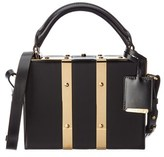 Sophie Hulme Albany Mini Suitcase Leather Shoulder Bag.