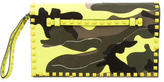 Valentino Rockstud Camouflage Clutch w/ Tags
