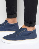 Pointer Mathieson Mid Plimsolls In Canvas