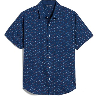 Cutter & Buck Windward Short Sleeve Button-Up Shirt