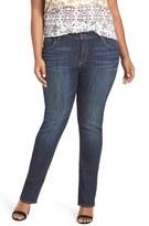 Lucky Brand 'Reese' Ripped Boyfriend Jeans (Matira) (Plus Size)