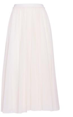 Jil Sander Midi Skirt With A High Waist
