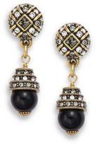 Heidi Daus Beaded Crystal Drop Earrings