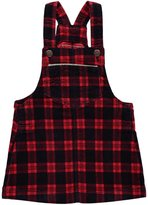 "Osh Kosh OshKosh Baby Girls' ""wood"" Velvet Overall Skirt"