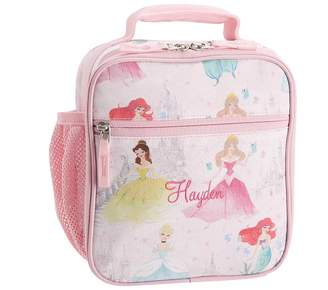 Pottery Barn Kids Mackenzie Disney Princess Castle Shimmer Lunch Box