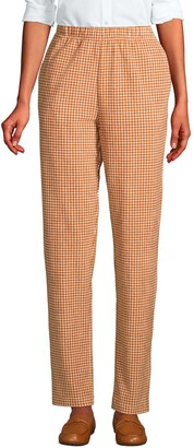 Lands' End Women's Sport High Rise Corduroy Pull-On Pants