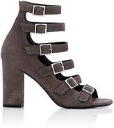 """Saint Laurent Women's """"Babies"""" Buckled-Strap Sandals-GREY"""