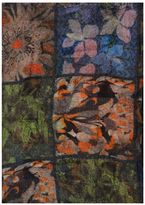 Faliero Sarti Check And Floral Scarf