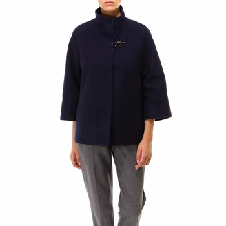 Fay High Collar Hook Detail Jacket