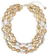 The Sak Triple Row Beaded Necklace