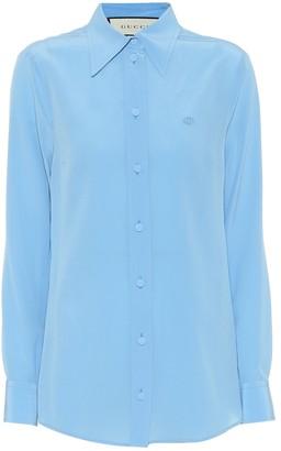 Gucci Silk crepe shirt