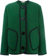 Vanessa Bruno contrast stitching oversized jacket
