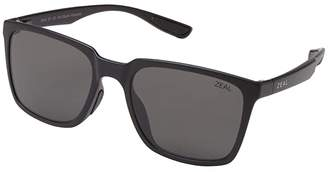 Zeal Optics Campo (Matte Black/Polarized Dark Grey Lens) Fashion Sunglasses