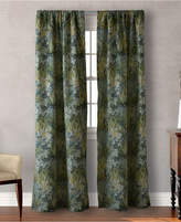 "Tommy Bahama Home Cuba Cabana Floral-Print 84"" Pair of Window Panels Bedding"