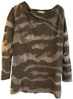 Philipp Plein Grey Wool Knitwear