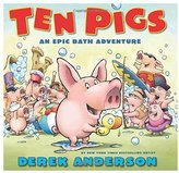 Scholastic Ten Pigs - Hardcover