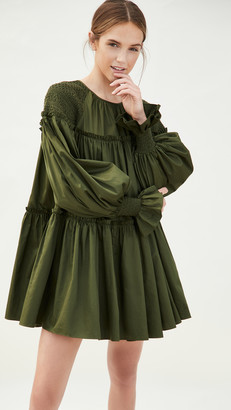Aje Tranquility Smock Dress