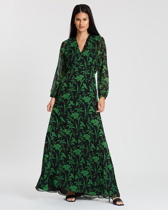 Whistles Valerie Woodland Floral Dress