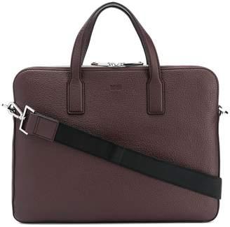 HUGO BOSS zipped laptop bag