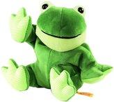 Steiff Floppy Cappy Frog Heat Cushion