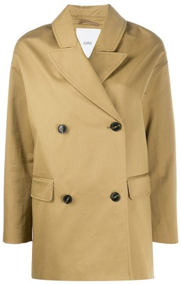 Closed Oversized Double Breasted Coat