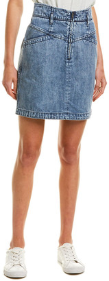 La Vie By Rebecca Taylor Denim Mini Skirt