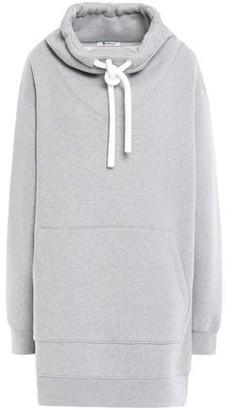 Alexander Wang Oversized Cotton-blend Fleece Hoodie