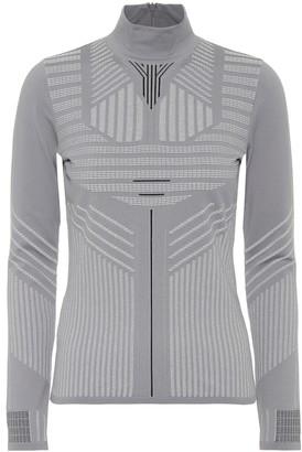 Prada Geometric turtleneck sweater
