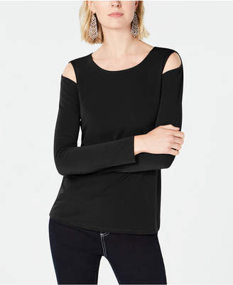 INC International Concepts Inc Cold-Shoulder Top