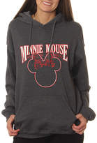 Asstd National Brand Minnie Mouse Juniors' Classic Ears Outline Pullover Graphic Hoodie