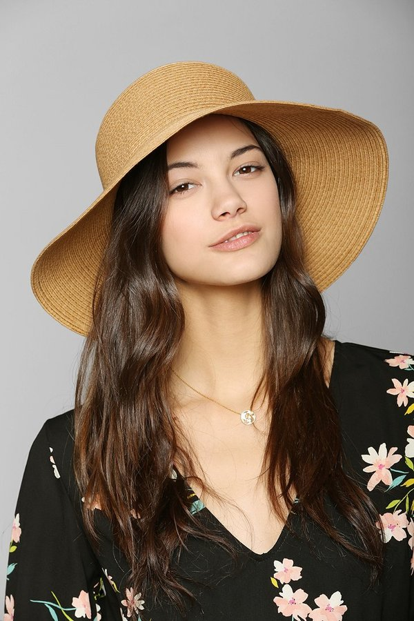 Urban Outfitters Straw Beekeeper Hat