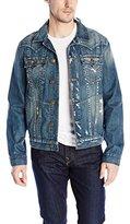 True Religion Men's Jimmy Slim Fit Western Jacket