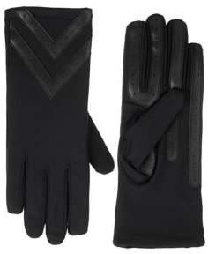 Isotoner Women's Chevron Stretch Touchscreen Gloves