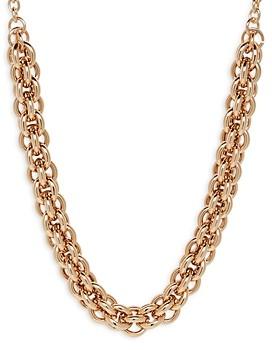 Aqua Double Link Chain Necklace, 22 - 100% Exclusive