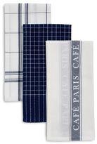 Sur La Table Cafe Paris Assorted Kitchen Towels, Set of 3