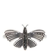 Lucky Brand Pave Butterfly Cuff Bracelet