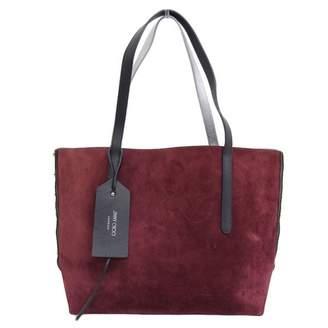 Jimmy Choo Burgundy Suede Handbags