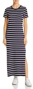 AG Jeans Striped Maxi Dress