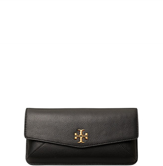 Tory Burch Kira Leather Medallion Clutch Bag