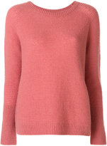 Max Mara round neck top