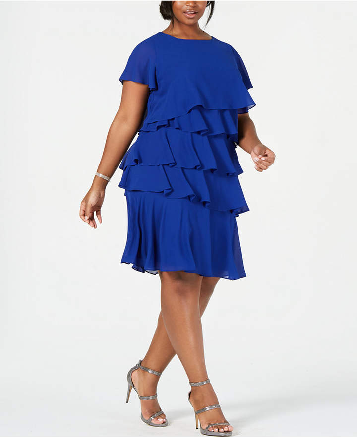 Plus Size Chiffon Dresses - ShopStyle